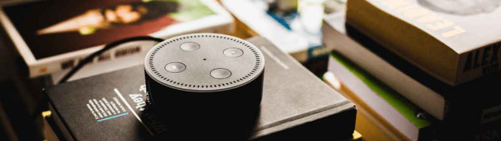 content marketing blog showing voice search