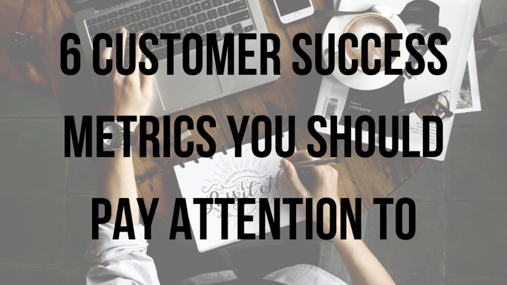 Customer Success Metrics - someone sitting at a laptop reporting